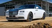 Rolls-Royce Dawn 2016 : la future Wraith Cabriolet a un nom