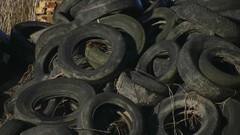 Du pétrole avec des pneus usagés