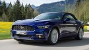Essai Ford Mustang Cabriolet Ecoboost : Elle débarque en Europe
