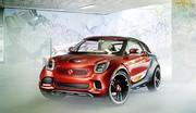 Un futur petit SUV chez Smart ?