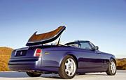 Rolls-Royce Phantom Drophead Coupé : Métal brossé pour conducteur blindé