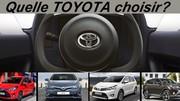 Quelle Toyota choisir ?