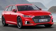 Audi A6 Avant 2017 : Chargé d'électronique