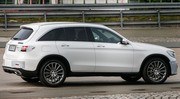 Le Mercedes GLC quasiment nu !