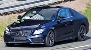 Mercedes C Coupé 2016 : Moitié nue, moitié habillée