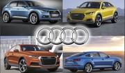Futurs SUV Audi : Q1, Q8, Crossover électrique et TT SUV