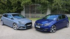 Essai Ford Focus ST TDCi vs Peugeot 308 GT HDi: Sport... et Diesel ?