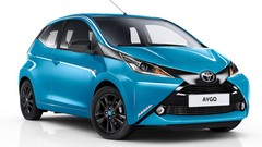 Toyota Aygo (2015) : nouvelle finition x-cite Bleu Cyan