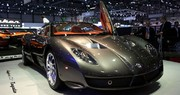 Spyker C12 Zagato : un parfum d'Italie