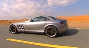Essai Maybach 62 S & Mercedes McLaren SLR 722 à Dubaï