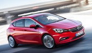 L'Opel Astra 2015 dévoilée : forte en style !