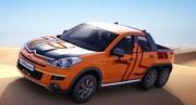 Chenille orange : Citroën Cruise Crosser
