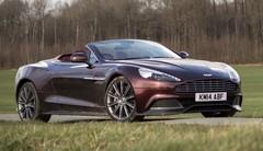 Essai Aston Martin Vanquish S Volante : la beauté du geste