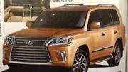 Lexus : le gros LX 570 en fuite