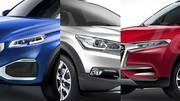 Citroën, DS, Peugeot et Renault : les futurs SUV français