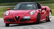 Essai Alfa Romeo 4C Spider 240 ch : Très chère diva !