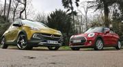 Essai Mini One vs Opel Adam Rocks: Puces à trois pattes
