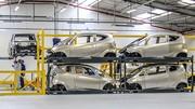 La Bluecar électrique construite par Renault à Dieppe
