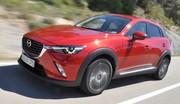 Essai Mazda CX-3 (2015) : Pas que de la frime !