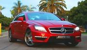 Essai : Mercedes CLS63 AMG, Californikazion