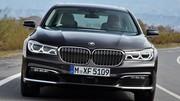 BMW Série 7 : Chauffeur de série
