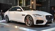 Jaguar XF : vidéo de la première française de la nouvelle XF à Paris