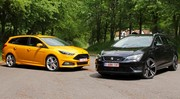 Essai Ford Focus ST break vs Seat Leon ST Cupra : Coffre au carré
