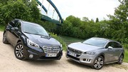 Essai Peugeot 508 RXH vs Subaru Outback : Breaks alternatifs