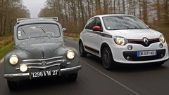 Héritage Renault – la 4 CV (1946) face à la Twingo (2014) : propulsions populaires