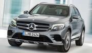 Mercedes GLC : les photos du remplaçant du GLK