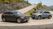 Mercedes GLC : le Q5 et le X3 dans le collimateur