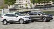 Essai Renault Kadjar vs Nissan Qashqai : le match des SUV à essence !
