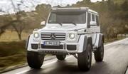 """Le Mercedes G500 4x4 """"Carré"""" disponible au prix de... 226 100 € !"""