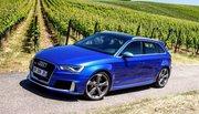 Essai Audi RS3 : toute en muscles