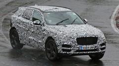 Jaguar F-Pace : Elle perd son camouflage