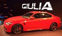Alfa Romeo Giulia 2015 : photos et vidéo de la nouvelle Alfa Romeo