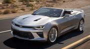 Chevrolet Camaro Cabriolet 2016 : vidéo, photos et infos officielles