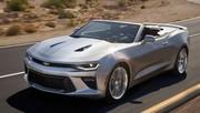 La nouvelle Chevrolet Camaro déjà en version cabriolet