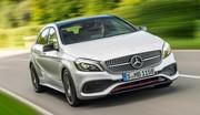Evolution de la Mercedes Classe A