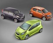 Chevrolet Beat, Groove, Trax Concept : Le coup du chapeau