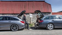 Essai Mercedes CLA Shooting Brake 220d vs C 220d Break : Camarades de classe R