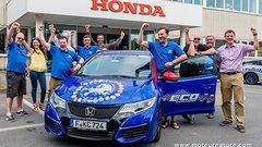 Honda établit un record du monde avec son diesel