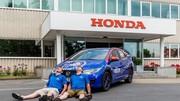 Nouveau record d'efficience pour la Honda Civic