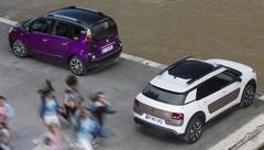 Essai Citroën C3 Picasso PureTech 110 vs Citroën C4 Cactus : Crêpage de chevrons