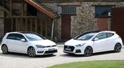 Essai Hyundai i30 Turbo vs Volkswagen Golf 1.4 TSI : Défier les références