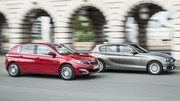 Essai Peugeot 308 1.6 BlueHDi 120 vs BMW 116d : La quête du gramme