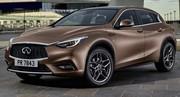 Premier cliché officiel de la compacte premium de Nissan