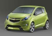 Trois prototypes de citadines signés Chevrolet