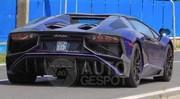 La Lamborghini Super Veloce Roadster sur la route