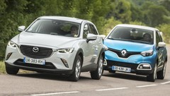 Essai Mazda CX-3 vs Renault Captur: le match des petits SUV